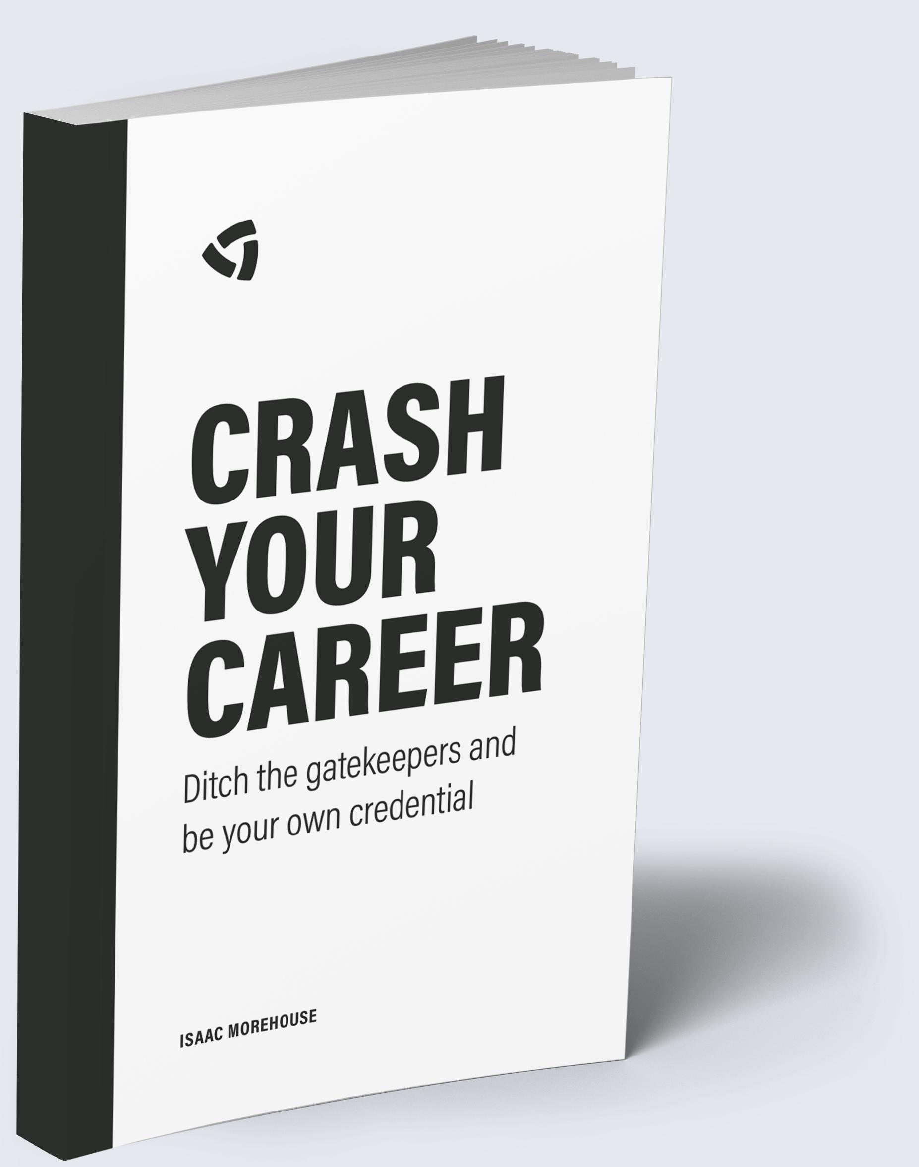 Crash Your Career Book